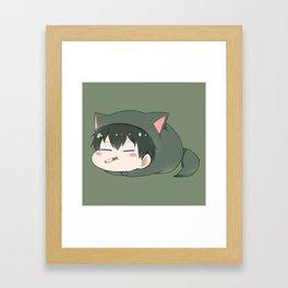 Gintama - Toshiro Cute Framed Art Print