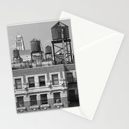 New York City Rooftops Stationery Cards
