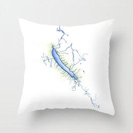 Otisco Lake Throw Pillow