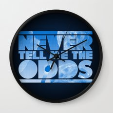 THE ODDS Wall Clock