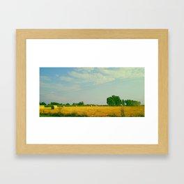 The landscape Framed Art Print