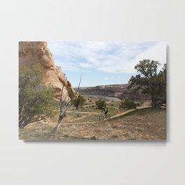 Horsethief Bench and Colorado River Metal Print
