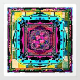 Framed 10 Art Print