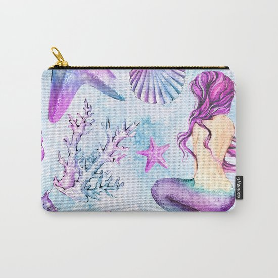 Enchanted Ocean #6 Carry-All Pouch