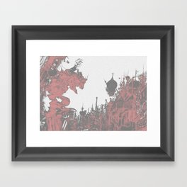Terra-nigma Framed Art Print