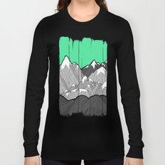 Green Sky Mounts Long Sleeve T-shirt