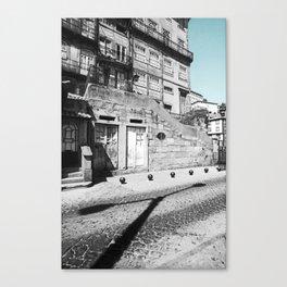 STREET LAMP - OPORTO (PORTUGAL) Canvas Print