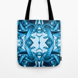 Tentacle Future Mandala Tote Bag