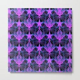 Starfire Kaleidoscope (Aphrodite's Wishing Star) Metal Print