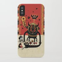 insect iPhone & iPod Cases featuring Insect catcher by Exit Man