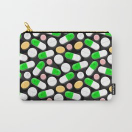 Deadly Pills Pattern Carry-All Pouch