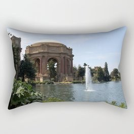 Palace Of Fine Arts And Lagoon Rectangular Pillow