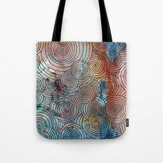 Circles, Water, & Color Drawing Meditation Tote Bag
