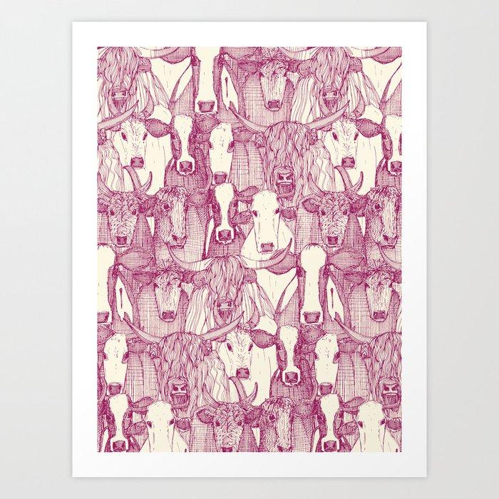just cattle cherry pearl Kunstdrucke