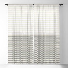 Brush Lines Pattern #society6 #decor #buyart Sheer Curtain