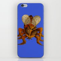 bee iPhone & iPod Skins featuring bee by giol's