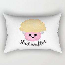 Stud Muffin - Earrings Rectangular Pillow