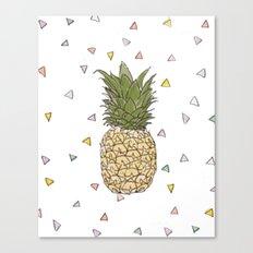 Pinapple Canvas Print
