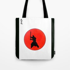 Japanese Bushido Way Of The Warrior Tote Bag