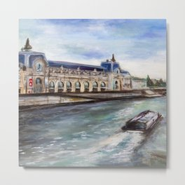 Musée d'Orsay Metal Print