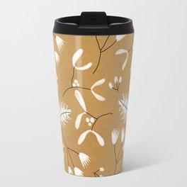 Winter Leaves Travel Mug