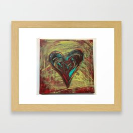 Wild Heart Framed Art Print