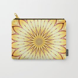 Golden Star Mandala Carry-All Pouch