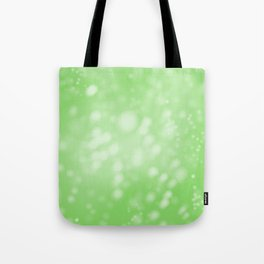 Lime Green Ombre Tote Bag