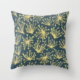 Queen Anne's Lace #4 Throw Pillow