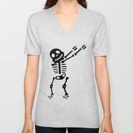 Baby Skeleton Pregnancy Unisex V-Neck