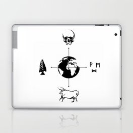 Anthropology: The Four Subdisciplines (Version 2.0) Laptop & iPad Skin