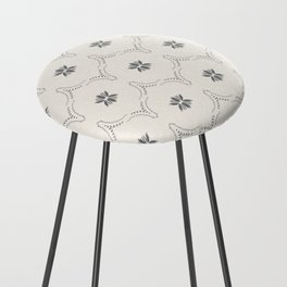 WILDFLOWER JASMIN GREY Counter Stool