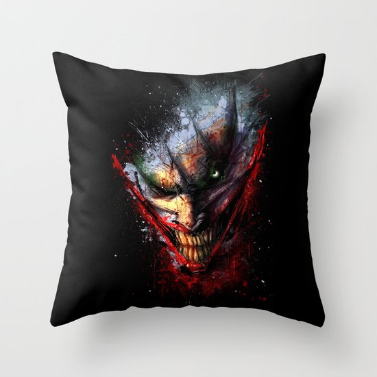Madness is the Emergency Exit Throw Pillow