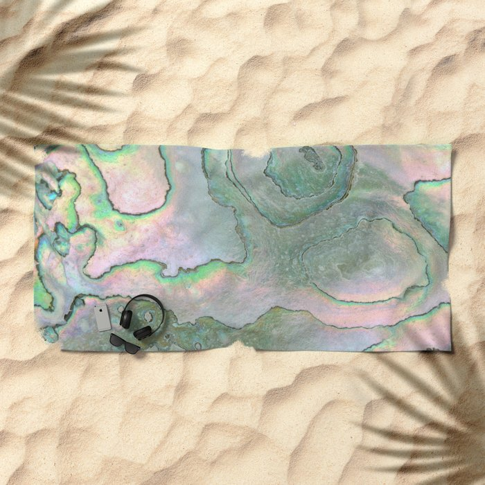 Shell Texture Beach Towel