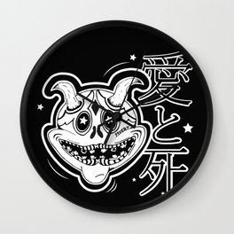 Japanese Demon Wall Clock