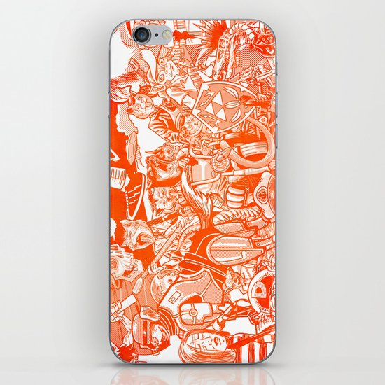 explosion! iPhone & iPod Skin