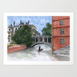 The Bridge of Sighs Art Print
