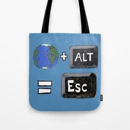 Alt World Tote Bag