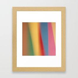 Colored blured background 22 Framed Art Print