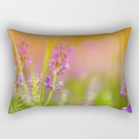 Towards the summer Rectangular Pillow