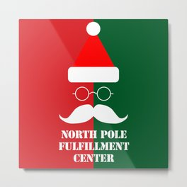 North Pole Fulfillment Center Metal Print