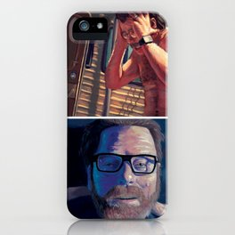 Walter White - First Vs. Last iPhone Case