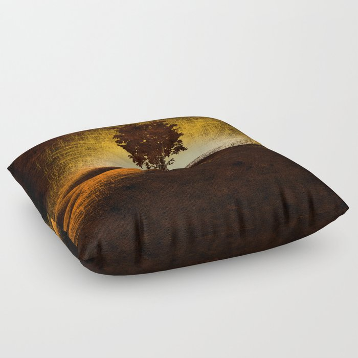 fire walk with me Floor Pillow