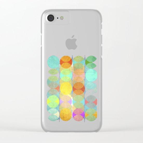 Multitudes Clear iPhone Case