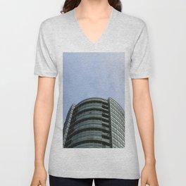 Burnaby condo tower Unisex V-Neck