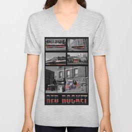 Red Rocket 30 Unisex V-Neck