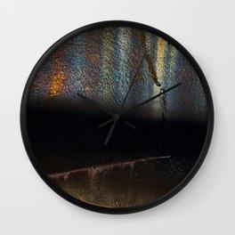 Evening Reflections I Wall Clock