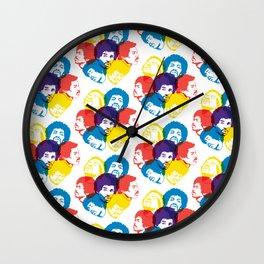 Hendrix Pattern Wall Clock