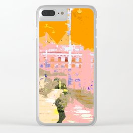 Town Hall Square Clear iPhone Case