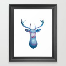 Oh Deer Framed Art Print